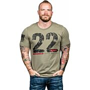 NINE LINE APPAREL 22DAY MEN'S T-SHIRT COYOTE 2XL