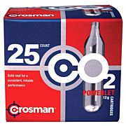 CROSMAN C02 POWERLET BULK PACK 25 POWERLETS
