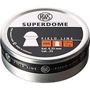 RWS PELLETS .25 SUPERDOME 31 GRAIN FIELD 150-PACK