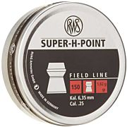 RWS PELLETS .25 SUPER-H-POINT 31 GRAIN FIELD 150-PACK