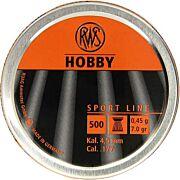 RWS PELLETS .177 HOBBY 7 GRAIN SPORT LINE 300-PACK