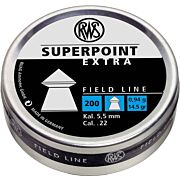 RWS PELLETS .22 SUPERPOINT EXTRA 14.5 GRAINS 200-PACK