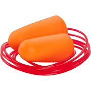 ALLEN FOAM CORDED EAR PLUGS 3 PAIRS NRR23 DB ORANGE
