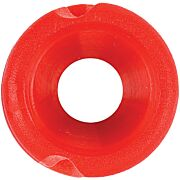 "PINE RIDGE FEATHER PEEP SIGHT 3/16"" RED 1EA"