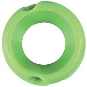 "PINE RIDGE FEATHER PEEP SIGHT 1/4"" LIME GREEN 1EA"