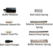 2A SPRING/DETENT KIT BUILDER SERIES AR15 BLACK