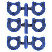 WILSON SHOK-BUFF SHOCK BUFFERS FOR 1911 6-PACK BLUE POLYMER