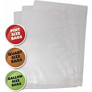 WESTON VARIETY PACK VAC SEALER BAGS 50 COUNT