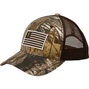 BG CAP PATRIOT FLAG/BUCK MARK PATCH RTREE XTRA ADJUSTABLE