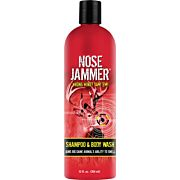 NOSE JAMMER SHAMPOO AND BODY WASH 12 OUNCES SQUEEZE BOTTLE