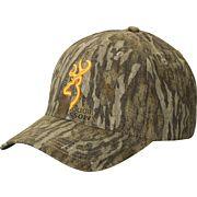 BG RIMFIRE CAP BUCK MARK LOGO MOBLAND HOOK AND LOOP BACK