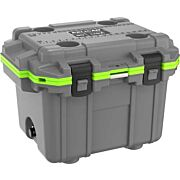 PELICAN COOLERS IM 30 QUART ELITE DARK GRAY/GREEN