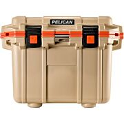 PELICAN COOLERS IM 30 QUART ELITE TAN/ORANGE
