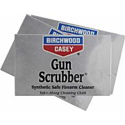 B/C GUN SCRUBBER FIREARM CLEANER TAKE-ALONGS 12 WIPES