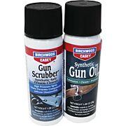 B/C GUN SCRUBBER/SYN GUN OIL COMBO PACK 1.25OZ EA AEROSOL
