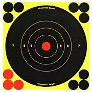 "B/C TARGET SHOOT-N-C 6"" BULL'S-EYE 12 TARGETS"