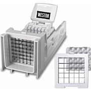 WESTON RATCHETING FRENCH FRY CUTTER AND VEGETABLE DICER