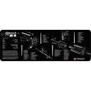 """TEKMAT ARMORERS BENCH MAT 12""""X36"""" AR-10 BLACK"""