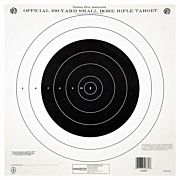 "CHAMPION TGT PAPER 14""X14"" 100YD. SINGLE BULLSEYE 12PK"