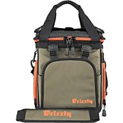 GRIZZLY COOLERS DRIFTER 12PLUS EVA MOLDED COOLER ODGREEN/ORG!