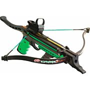 PSE HAND HELD CROSSBOW ZOMBIE REACT 215FPS 50# DRAW BLACK