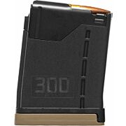 LANCER MAGAZINE L5AWM AR-15 .300BLK 10RD OPAQUE BLACK