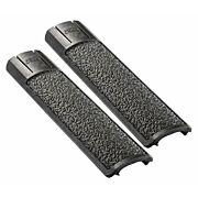 ERGO GRIP RAIL COVER FULL LONG TEXTURED PICATINNY BLACK 2PK