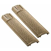 ERGO GRIP RAIL COVER FULL LONG TEXTURED PICATINNY FDE 2PK