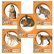 CHAMPION CRITTER SERIES TARGET PAPER 2EA. OF 5 ANIMALS 10-PK.