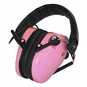 CALDWELL E-MAX EAR MUFF LOW PROFILE ELECTRONIC PINK