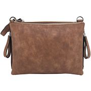CAMELEON IRIS CONCEALED CARRY PURSE-CROSS BODY STYLE BROWN