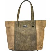 CAMELEON THEIA CONCEAL CARRY PURSE OPEN TOTE BROWN