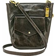 CAMELEON FORTUNA CONCEAL CARRY PURSE BUCKET TOT CB BROWN LTHR