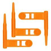 ERGO GRIP CHAMBER SAFETY FLAG FOR RIFLES ORANGE 3-PK