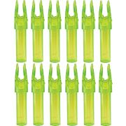 CARBON EXPRESS NOCK LAUNCHPAD PRECISION GREEN .244 ID 12PK