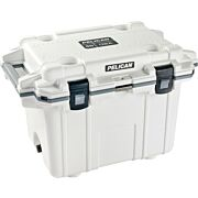 PELICAN COOLERS IM 50 QUART ELITE WHITE/GRAY