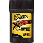 SCENT SHIELD ANTIPERSPIRANT/ DEODORANT 3X-FACTOR 2.5GR