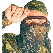 QUAKER BOY FACE MASK BANDITO ELITE 3/4 MOSSY OAK BREAK-UP