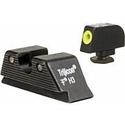 TRIJICON NIGHT SIGHT SET HD XR YELLOW OUTLINE GLOCK 17MOS