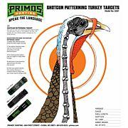 """PRIMOS PAPER TARGET TURKEY 11.5""""X10.75"""" 12-PACK"""