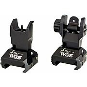WILLIAMS FIRE SIGHT FOLDING SIGHT SET FOR AR-15