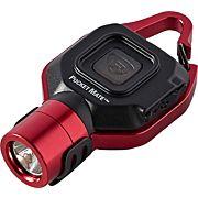 STREAMLIGHT POCKET MATE USB EDC LIGHT W/POCKET CLIP RED