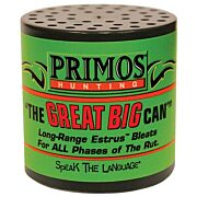 PRIMOS DEER CALL CAN STYLE THE GREAT BIG CAN