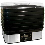 WESTON 6 TRAY DIGITAL FOOD DEHYDRATOR 500 WATT