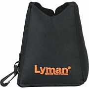 LYMAN CROSSHAIR FRONT SHOOTING BAG FILLED BLACK NYLON