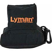 LYMAN CROSSHAIR REAR SHOOTING BAG FILLED BLACK NYLON