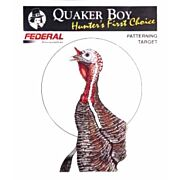"QUAKER BOY PAPER TARGET TURKEY 20"" X 20"" ROLLED 10-PACK"