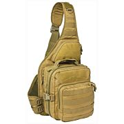 RED ROCK RECON SLING BAG COYOT TEAR AWAY FEATURE MAIN COMPART