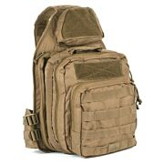 RED ROCK RECON SLING BAG DARKE TEAR AWAY FEATURE MAIN COMPART