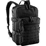 RED ROCK TRANSPORTER DAY PACK W/LASER-CUT MOLLE WEBB BLACK